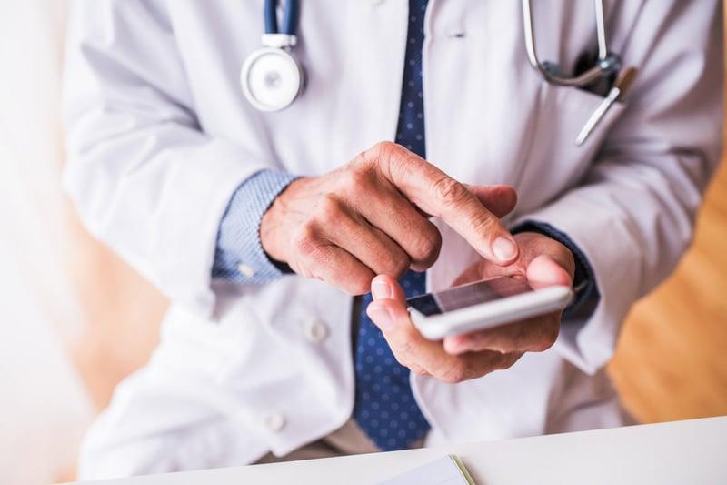 Mobil teknik bör användas i ännu högre grad på sjukhus