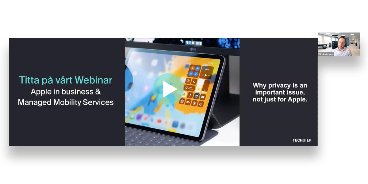 On Demand Webinar - Techstep Apple